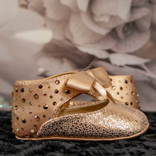 Load image into Gallery viewer, Champagne Shadow Baby Shoe_Jade + Jayne Boutique
