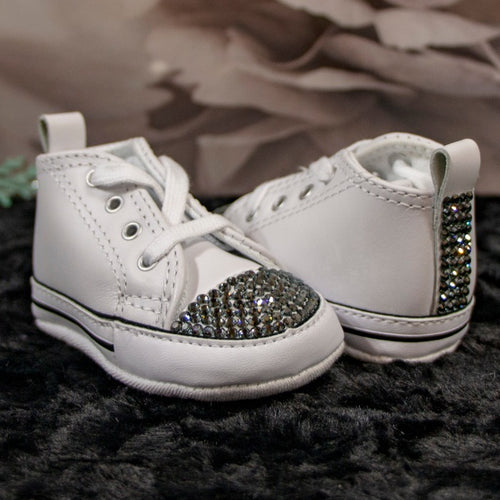 Converse All-Star Black Diamond Baby Shoe_Jade + Jayne Boutique