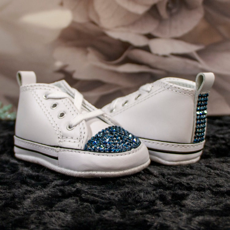 Converse All-Star Blue Baby Shoe_Jade + Jayne Boutique