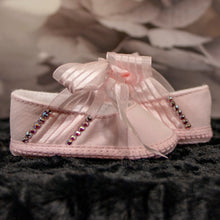 Load image into Gallery viewer, Crystal Slippers Baby Shoe_Jade + Jayne Boutique