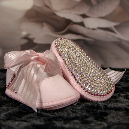Crystal Slippers Baby Shoe_Jade + Jayne Boutique