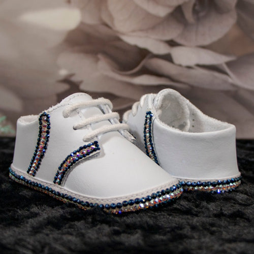 Preppy in Blue Baby Shoe_Jade + Jayne Boutique