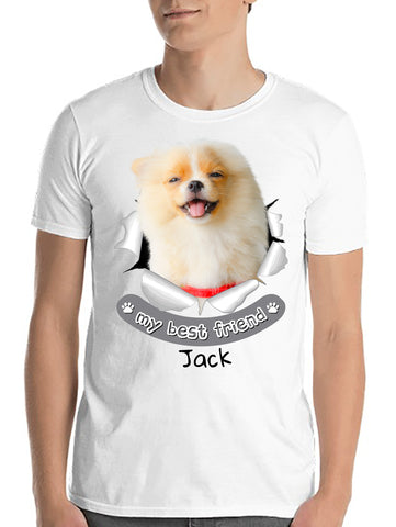 pet-on-shirt - My Bestfriend! - Pet On Shirt - Pet Designs