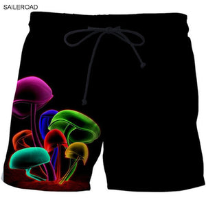 cceed46d13 Fashion Bermudas Floridas Men Swimming Shorts Swimsuit Swim Trunks Bathing  Beach Shorts Surf Briefs Skull 3D Print Board Shorts