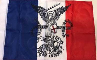 DRAPEAU FRANCE SAINT MICHEL