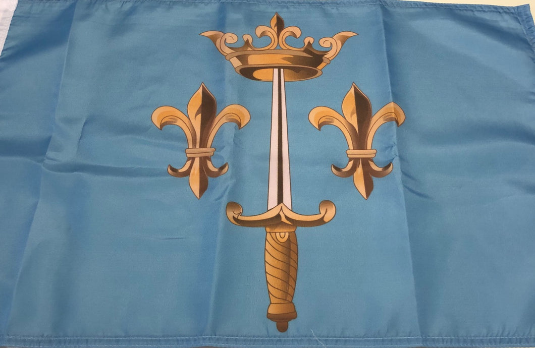 DRAPEAU ARMOIRIES DE JEANNE D'ARC
