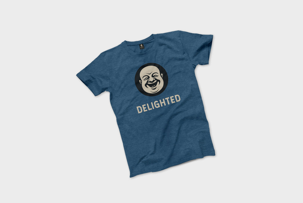 Delighted T-Shirt - Blue