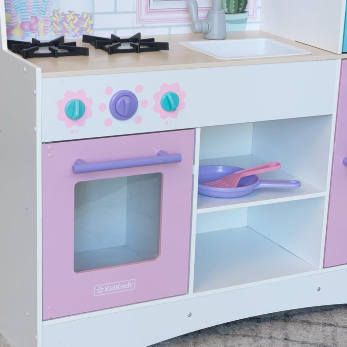 Cucina Giocattolo Dreamy Delights con Ez Kraft Assembly KidKraft - Decochic