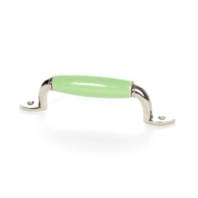 Green Ceramic Handle - Decochic
