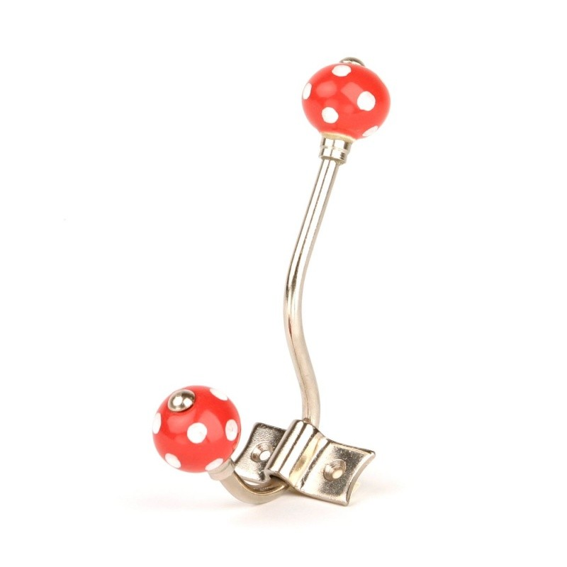 Red Polka Dot Hanger - Decochic