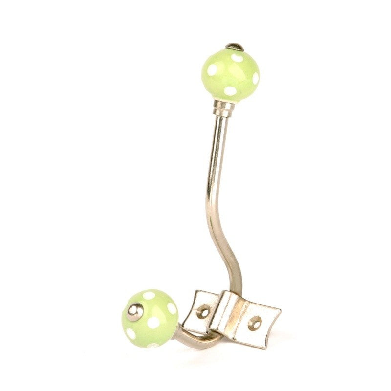 Green Polka Dot Hanger - Decochic