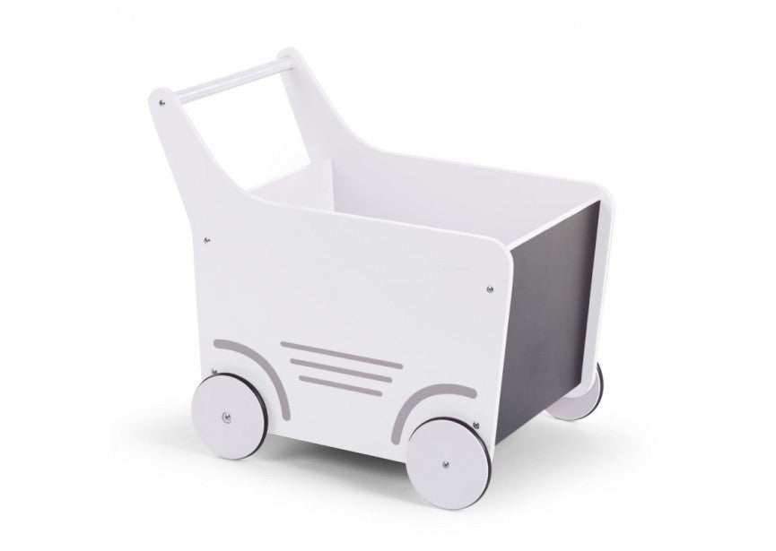 White Game Cart Container - Decochic