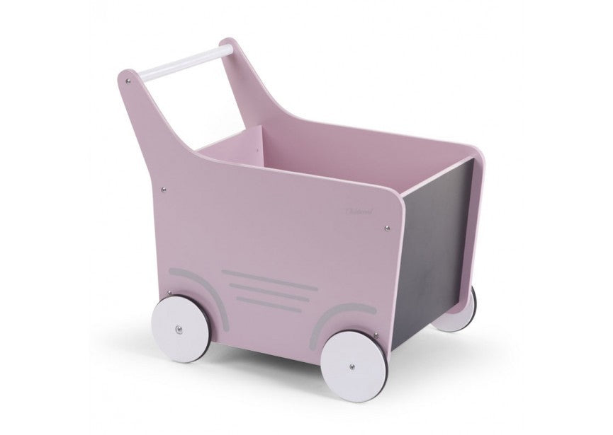 Pink Toy Cart Container - Decochic