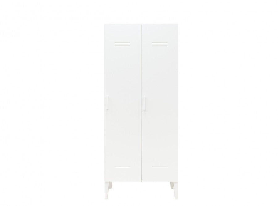Armadio a 2 Ante Bianco Locker Bopita - Decochic