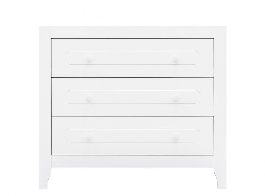 Changing table with 3 drawers Evi Bopita - Decochic