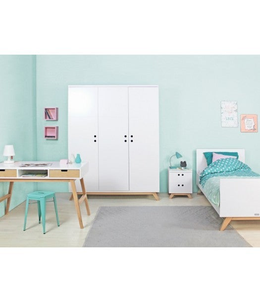 One Square Lynn Kinderbett 90x200 cm Bopita - Decochic