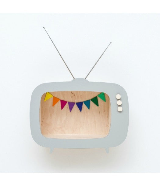 Mensola a TV Grigia Up Warsaw - Decochic