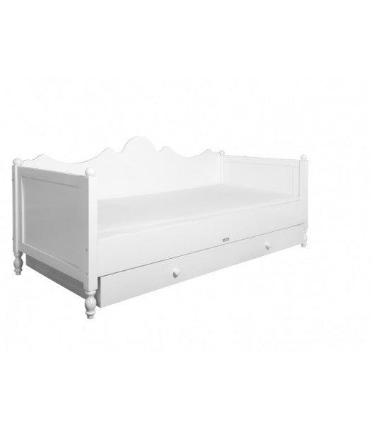 Single bed 90x200 cm Belle Bopita - Decochic