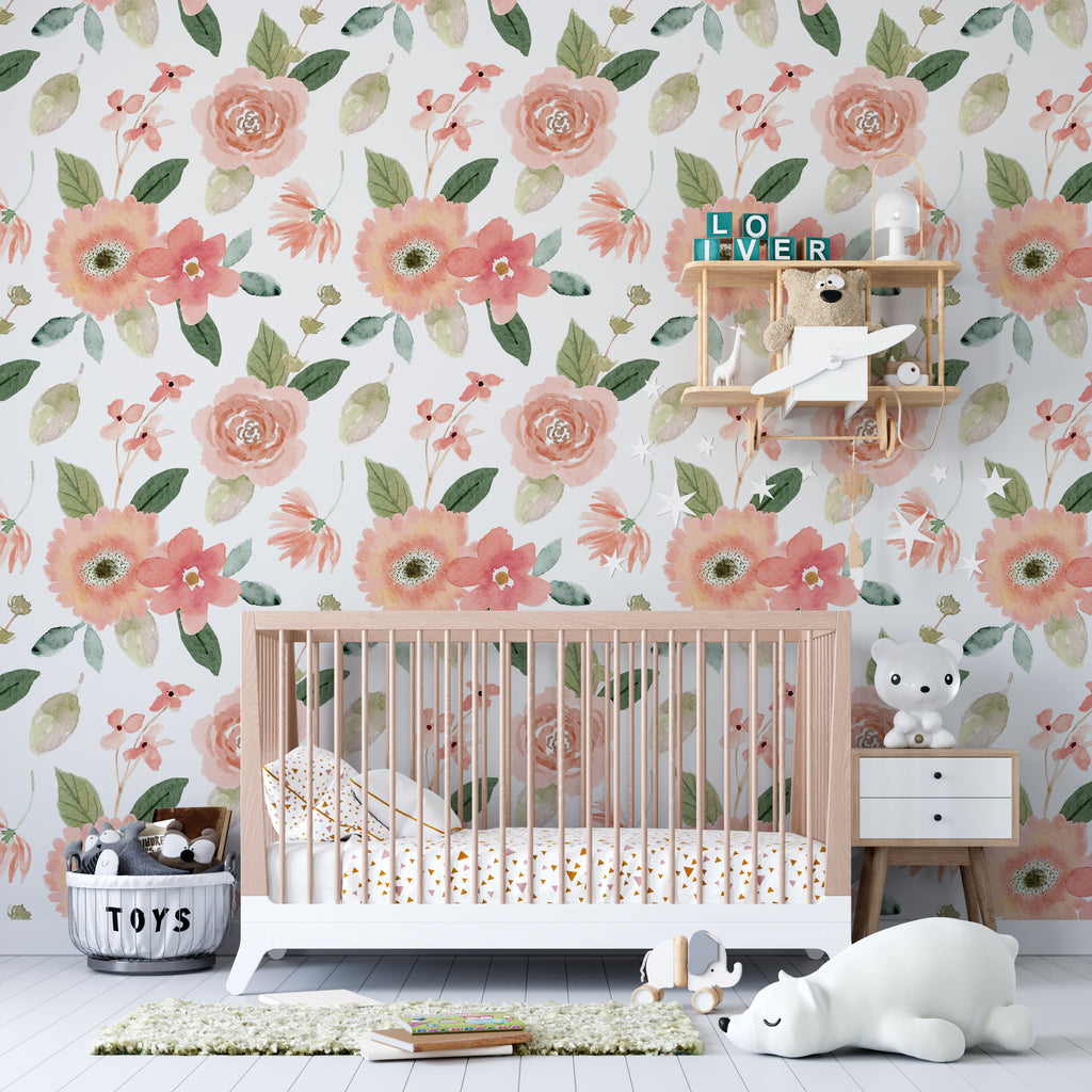 Self-Adhesive Film Spring Flowers - Decochic