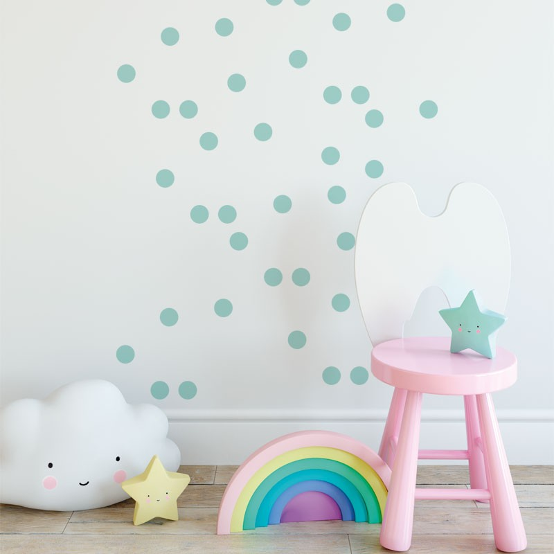 Round Wall Stickers - More Colors Available - Decochic