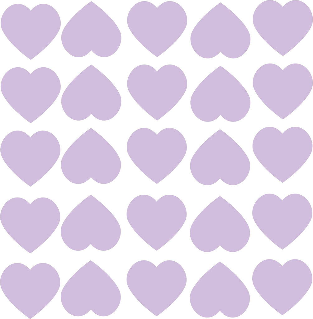 Wall Stickers Hearts - More Colors Available - Decochic