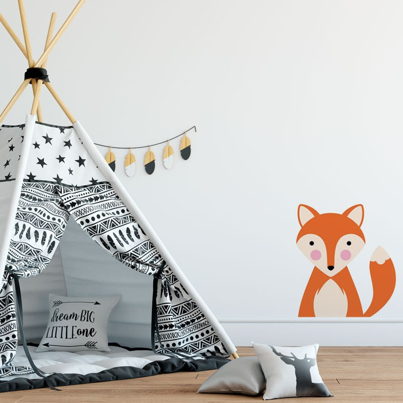 Fox Sticker - Decochic