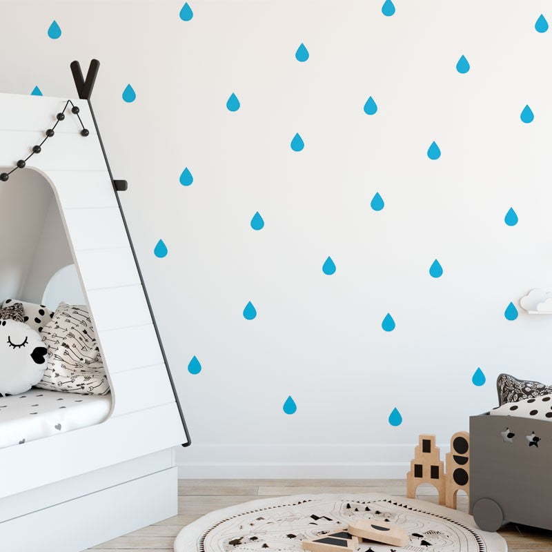Gotas Pegatinas de pared-Múltiples colores disponibles - Decochic