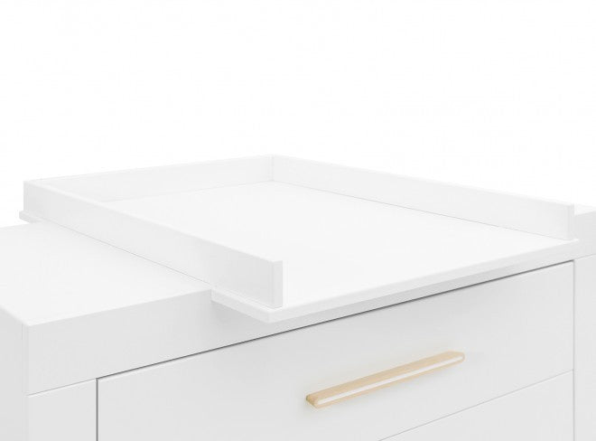 Baby Changing Table Lisa White Bopita - Decochic