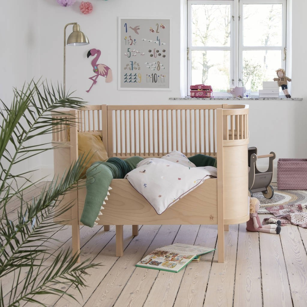 Sebra Wood Transformable Baby Bed - Decochic