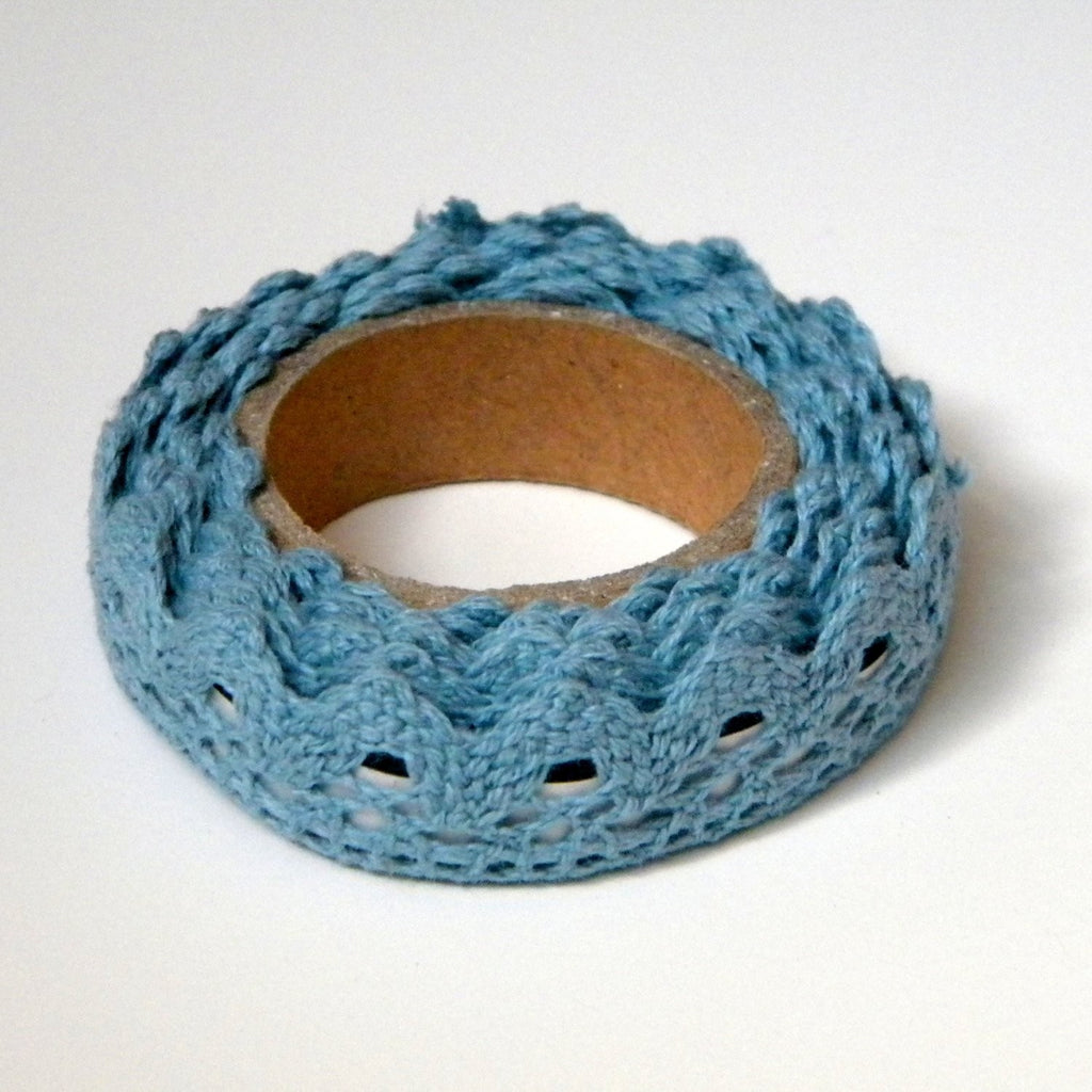 Light Blue Lace Adhesive Tape - Decochic