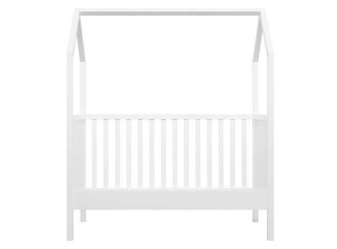 Transformable Toddler Bed 70x140 cm White Bopita - Decochic