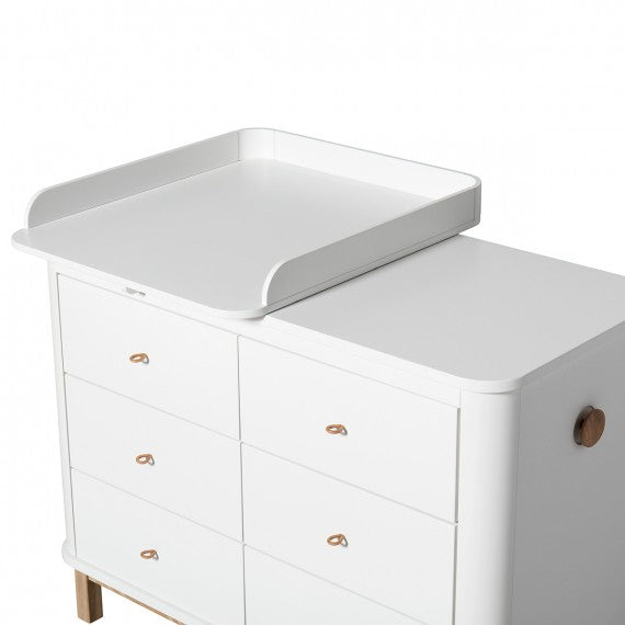 Oliver Furniture Fasciatoio piccolo per cassettiera Wood - Decochic
