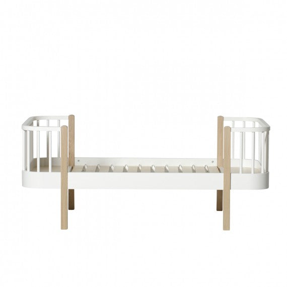 Wood Baby Bed 90x160 cm Oliver Furniture- 2 Colors Available - Decochic