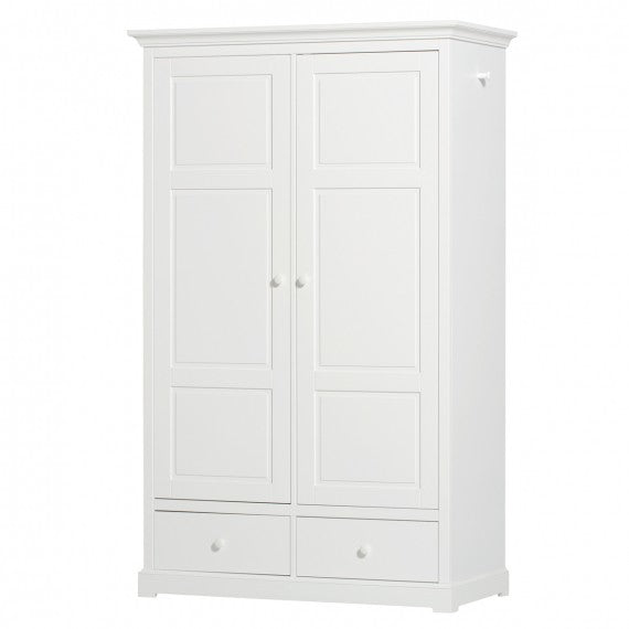 Armadio Cameretta a 2 Ante Seaside Oliver Furniture Bianco - Decochic