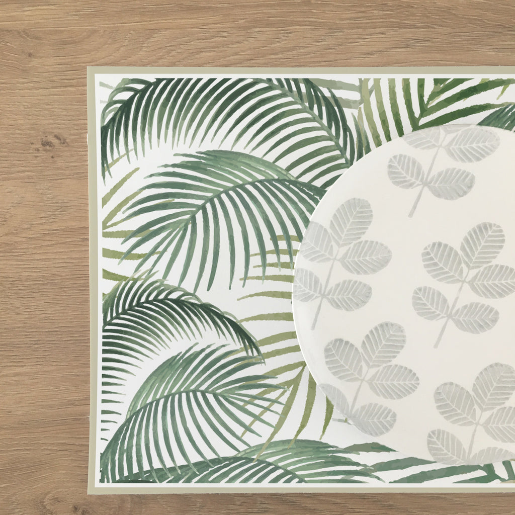 Set de Table Decochic Aquarelle Tropical Aquarelle