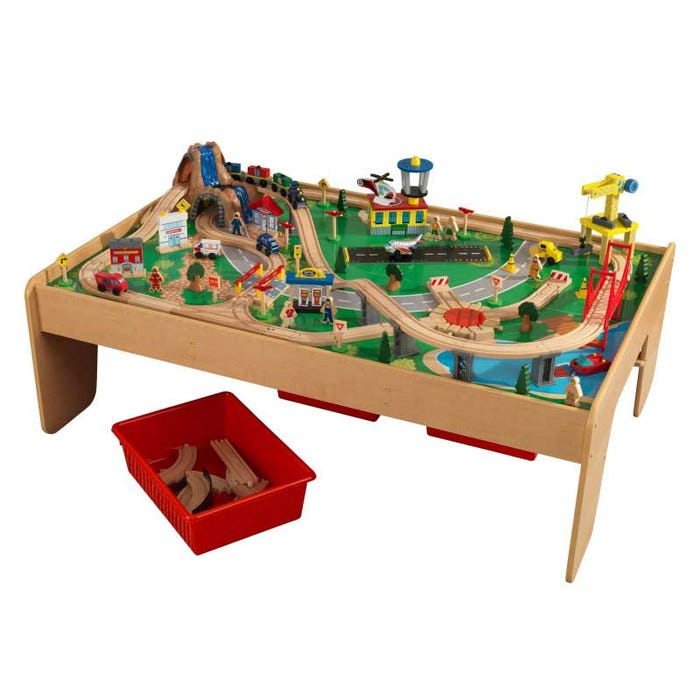 Set Tavolo e Treno Waterfall Mountain KidKraft - Decochic