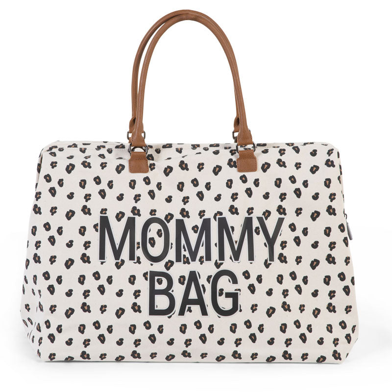 Changing Bag Mommy Bag Leopard Childhome - Decochic