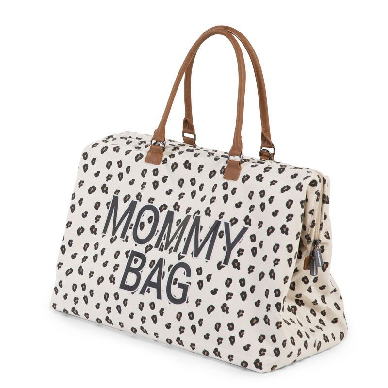 Borsa Fasciatoio Mommy Bag Leopardata Childhome - Decochic