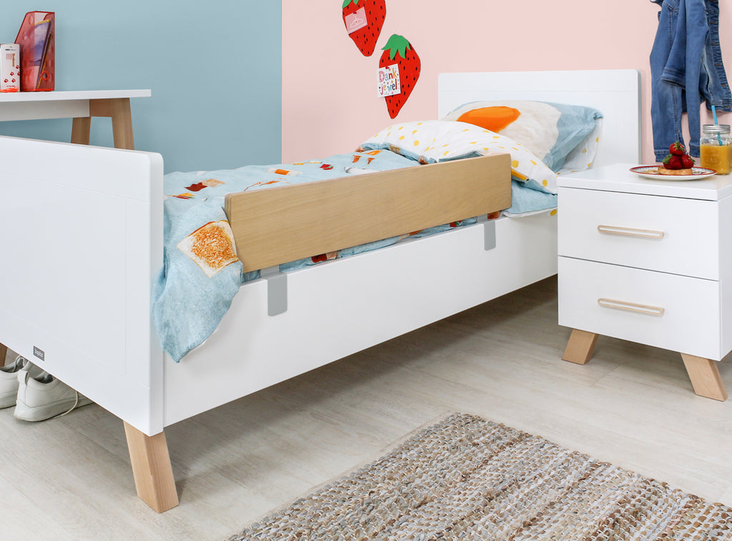 Lit enfant simple Lisa 90x200 cm Bopita blanc - Decochic
