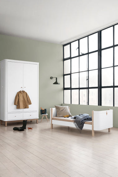 Cama evolutiva de madera Oliver Furniture - 2 variantes de color - Decochic