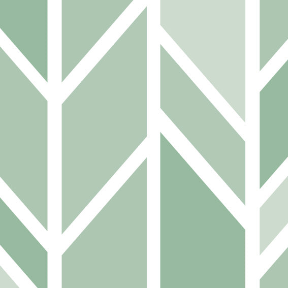 100x200 Vinyl Sage Arrows - Decochic