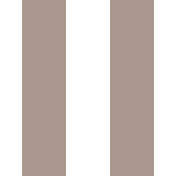 100x300 Vinyl Stripes Taupe - Decochic