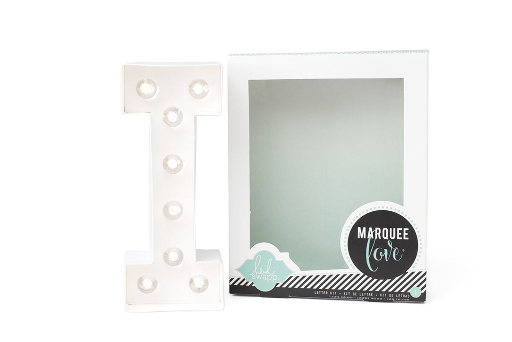 Kit Marquee Love-Lettera Personalizzabile Luminosa a LED 'I' - Decochic