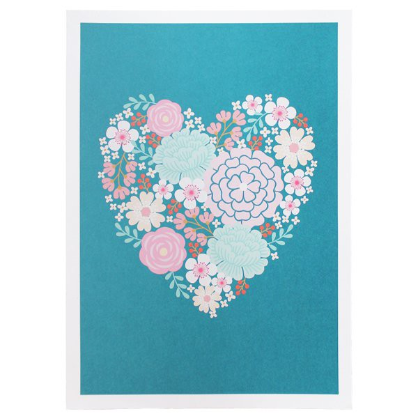 Heart Art Print Limited Edition - Decochic