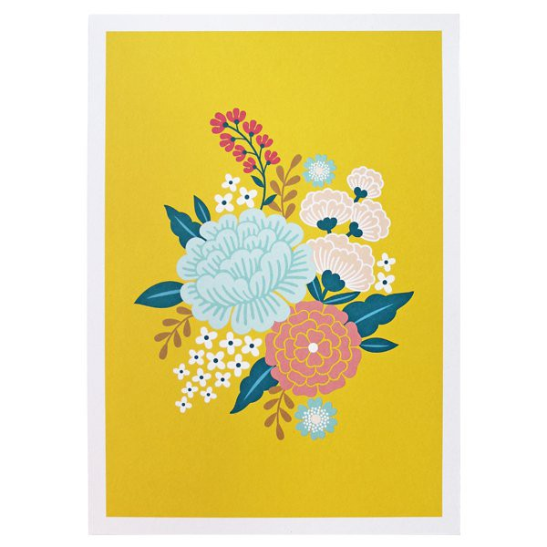 Fleurs Art Print Limited Edition - Decochic