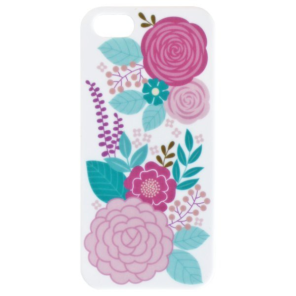 Estuche Soft I Phone Flowers I para 5 - Decochic