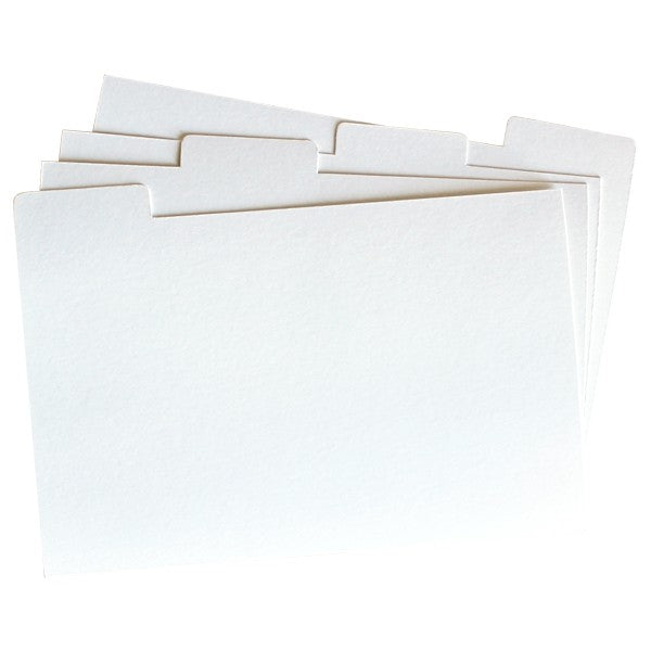 Dividers for recipe cards - Decochic