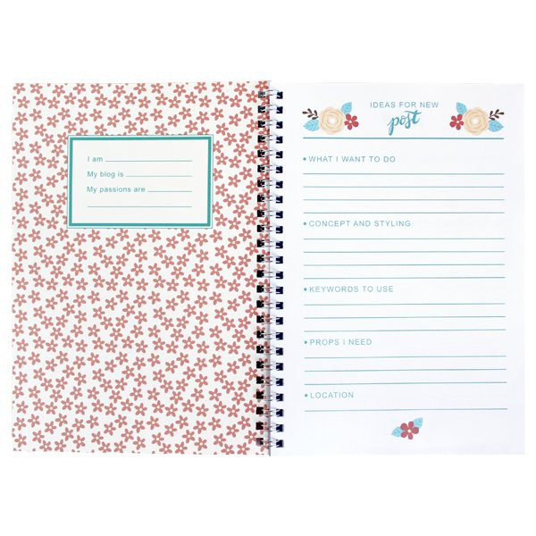 Carnet de notes Fly Top Blogger - Decochic