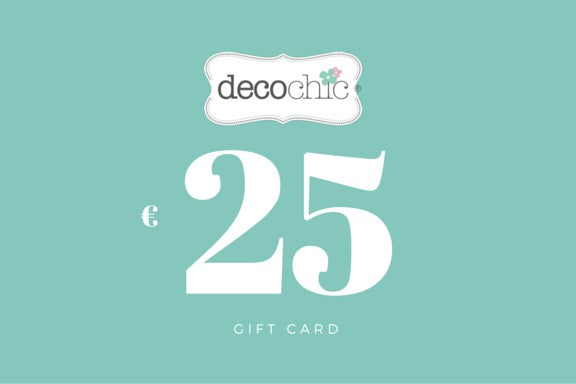 Gift Card from 25 € - Decochic