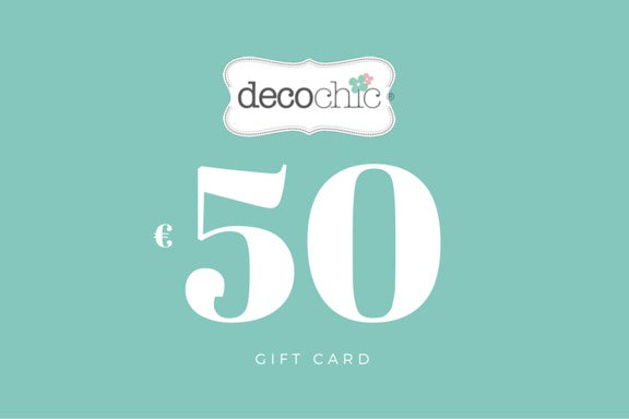 Gift Card da 50 € - Decochic